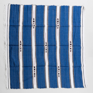 Two African Cotton Blue and White Textiles