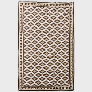Modern Geometric Chenille Carpet