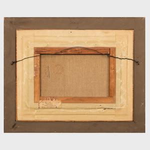 Georges René Sinicki (b. 1910): Composition aux deux chaises