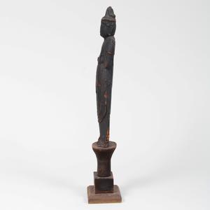 Japanese Carved Figure of Bodhisattva