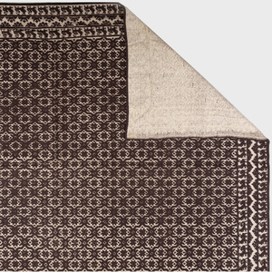 Custom Made Brown and Cream, High and Low Pile Carpet, Stark