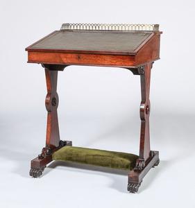 Victorian Rosewood Student's Desk