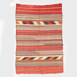 Two Small Transitional Navajo Rugs