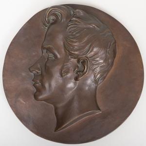 Christian Danielle Rauch (1777-1857): Portrait Plaque