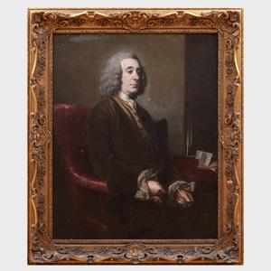 Attributed to Joshua Reynolds (1723-1792): Portrait of Archbishop Robinson