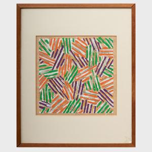 Jasper Johns (b. 1930): Untitled