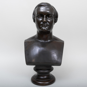 After August Jean Barre (1811-1896): Bust of Napoleon Joseph Charles Paul Bonaparte