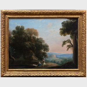 Henri Mauperche (c. 1602-1686): Paysage avec Agar et l'Ange