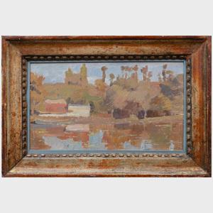 Charles-Marie Dulac (1866-1898): Bord de la Seine