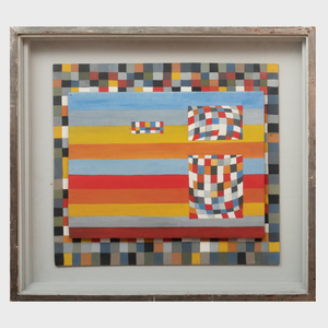 Jack Smith (1928-2011): Painted Relief