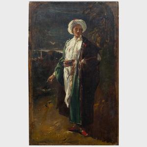 William James Muller (1812-1845): Englishman Wearing Turkish Costume