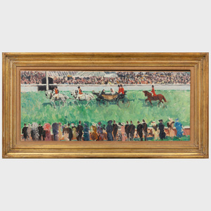 Paul Maze (1887-1979): At the Races