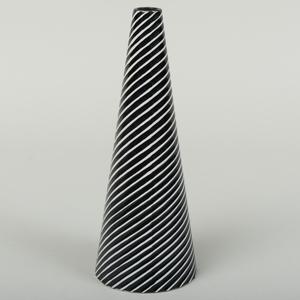 Stig Lindberg Glazed Pottery Conical Vase