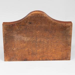 Victorian Brass-Mounted Oak Balance Postal Scale
