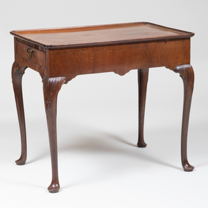 George II Mahogany Tray-Top Table