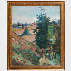 Armand Guillaumin (1841-1927: Le village de Crozant