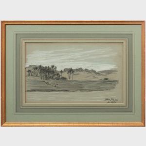 Elihu Vedder: (1836-1923) Seven Landscape Studies of the Middle East