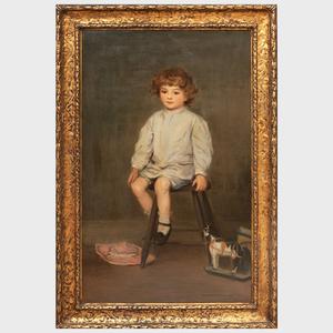Augustus Vincent Tack (1870-1949): Portrait of the Artist's Son