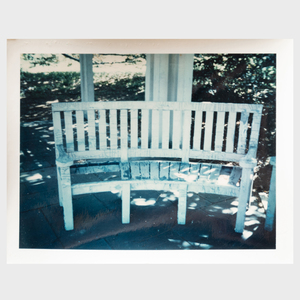 Andy Warhol (1928-1987): Wooden Bench