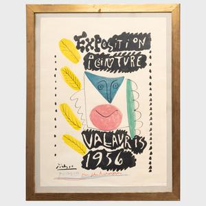 After Pablo Picasso (1881-1973): Exposition Peinture Valauris 1956