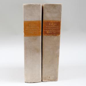 MANSI, R.P. Josephi (1658-1720): Congregationis Oratorii: Tomo III and IV
