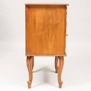 Continental Fruitwood Side Cabinet