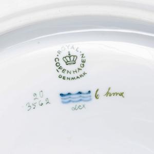 Royal Copenhagen Flora Danica Tureen, Cover and Underplate