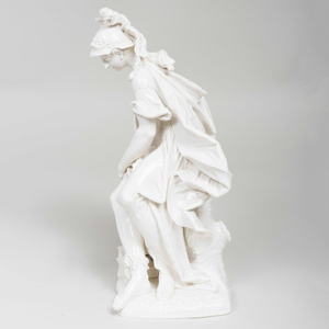 Nymphenburg Porcelain Figure of Athena
