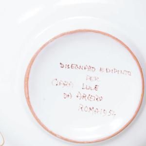Italian Faience Dinner Service