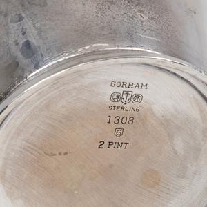 Gorham Modernist Silver Pitcher