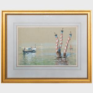 Arthur Burdett Frost II (1887-1917): Venetian Canal
