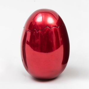 After Jeff Koons (b. 1955): Cracked Egg (Red)