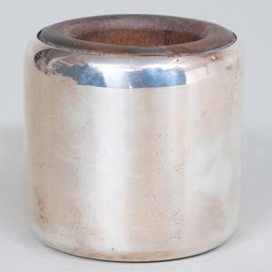 Cartier Silver Mounted Wood Nut Cracker