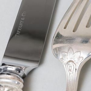 Tiffany & Co. Silver Flatware in the 'Audubon' Pattern