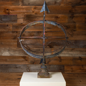 Metal Sphere Shaped Sun Dial