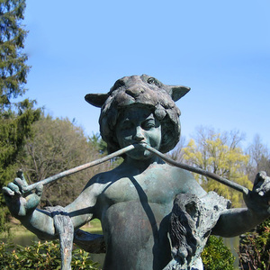 Attributed to Frederick E. Macmonnies: Pan