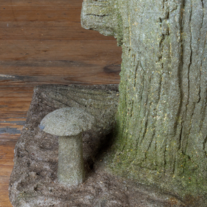 Composition Tree Trunk Stand