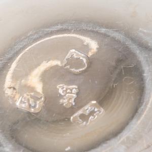 Assembled Set of Georgian Silver Nesting Cups