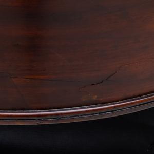 Regency Carved Mahogany Klismos Chair