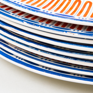 Set of Nine Wedgwood Creamware Plates and Three Soup Plates